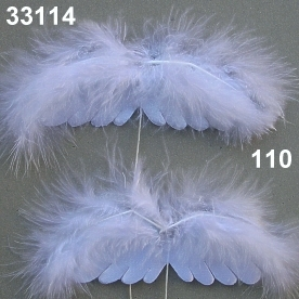 Feather wing on wire
