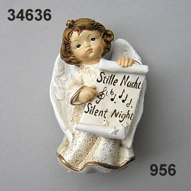 Angel Silent Night med.