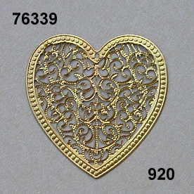 Filigree Orn.heartshape