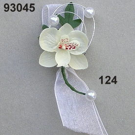 Orchidee Anstecker Perl