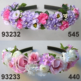 Lilac-Roses Hairband