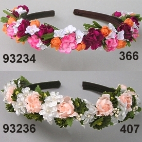 Forget-me.Rose Hairband