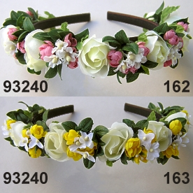 Roses Foliage Hairband