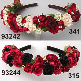 Buds Roses Hairband