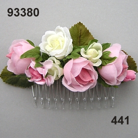 Rose Hair comb small